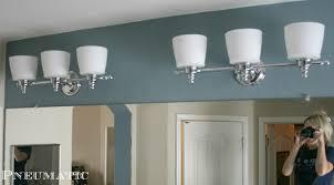 New Light Fixtures Pneumatic Addict Bathroom Upgrade Part 2 New Light Fixtures And