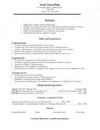Highschool Resume Examples by How To Write A Resume For High Students No Experience U0026 Buy
