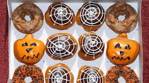 krispy kreme pumpkin donuts are here for now at least photo