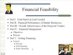feasibility study template small business part 1 financial