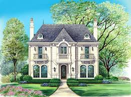 Home Plans French  Luxury House Plans Dallas Design Group L - Dallas home design