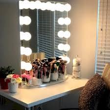 Lighted Make Up Vanity Hollywood Lighted Makeup Vanity Mirror