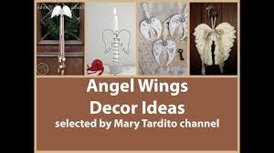 angel wings decor ideas vintage shabby chic decorating ideas