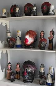 pilgrim candles thanksgiving pilgrims indians and of course turkeys vintage gurley