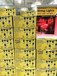 patio string lights costco feit electric string lights tfofw com