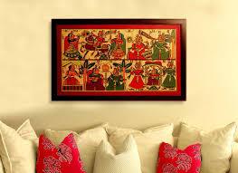 buy indian wedding phad painting online handicrafts online