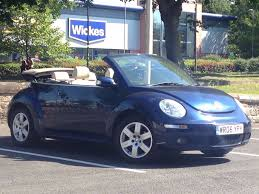 2006 Jun 06 Volkswagen Beetle 1 6 Luna Convertible 2 Drs