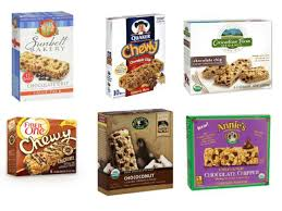 Top 10 Healthiest Granola Bars by Taste Test Chewy Chocolate Chip Granola Bars Food Network