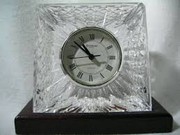 waterford crystal small desk clock waterford crystal desk clock waterford treviso crystal desk clock waterford crystal desk clock on wooden stand