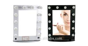 makeup mirror with led lights hollywood style make up mirror with led lights lighted makeup mirror