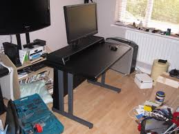 Console Gaming Desk My Modified Compact Gaming Area Oc3d Forums