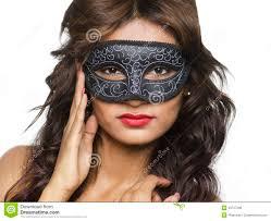 mardi gras masks for women beautiful woman in mardi gras mask and makeup stock photo image