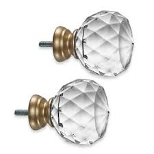 Curtain Rod Finial Buy Curtain Rods Finials From Bed Bath Beyond