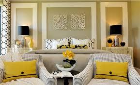 Visually Pleasant Yellow And Grey Bedroom Designs Home Design - Grey bedroom design