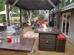 diy outdoor kitchen plans grey granite countertop double built in