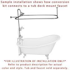 clawfoot tub shower enclosure kit moncler factory outlets com