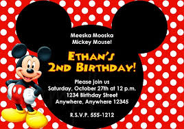 online birthday invitations tips easy to create mickey mouse birthday invitations ideas