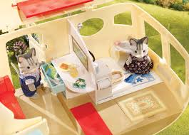 Calico Critters Play Table by Caravan Family Camper Calico Critters 026954 Details Rainbow