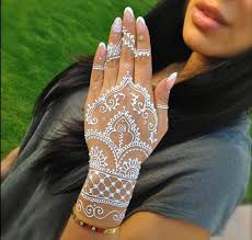best 25 white henna ideas on pinterest saree embroidery design