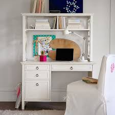 Pottery Barn White Desk With Hutch White Girls Desk With Hutch 11034 Regard To Awesome House Remodel