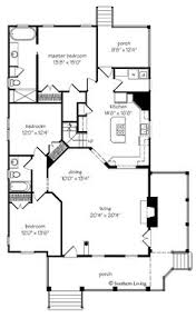 Country Cottage Floor Plans First Floor Plan Of Bungalow Coastal Cottage Country Farmhouse