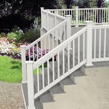 interior railings home depot amazing vinyl deck railing decoration vinyl deck railing