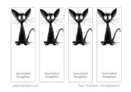 paul stickland blog free black cat bookmarks