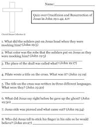 jesus resurrection coloring pages quiz over crucifixion and resurrection of jesus