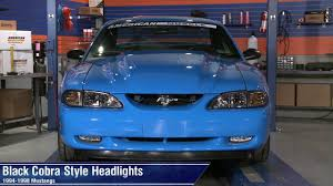 1994 mustang gt headlights mustang black cobra style headlights 94 98 all review