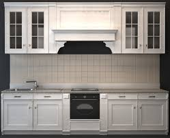Gray Kitchen Cabinets With Bar D Model Ds Max Files Free - Models of kitchen cabinets
