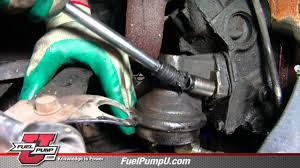 how to install mechanical fuel pump in 1969 1988 chevrolet u0026 gmc