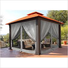 gazebo mosquito netting stc gz734c gazebo mosquito netting and privacy panels