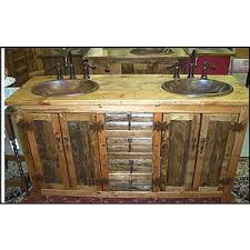 Rustic Bath Vanities Ms1371 62d Rustic Bathroom Vanity Double Sink 62