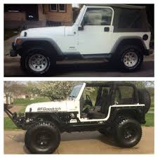 spyder jeep before and after 2005 jeep tj poison spyder jeep life