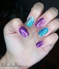 sparkling unicorn gel nails sparkle glitter youtube