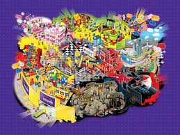 Legoland Map Legoland Discovery Center Map In Texas Ricky Brigante Flickr
