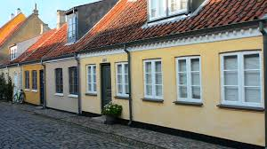 row homes odense denmark beautiful old row homes cobblestone streets in hans