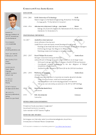 Best Resume Format For Graduates by 6 Best Resume Format Pdf Download Catering Resume