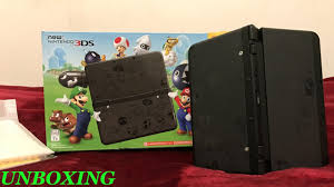 nintendo 3ds xl with super mario 3d land amazon black friday black friday new super mario 3ds edition unboxing youtube