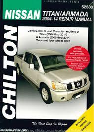 chilton 2004 2014 nissan titan 2005 2014 nissan armada truck