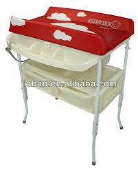 Changing Table With Bath Tub Removable Baby Bath Stand With Bath Tub And Sofe Changing Table