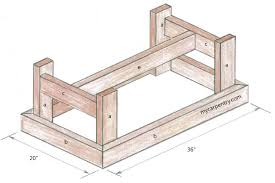 Coffee Table Plans Pine Coffee Table Plans Mar 21 2013 Pete Shows How To Build A