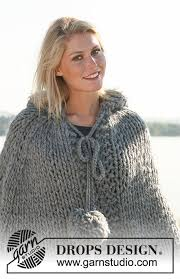 drops design poncho naleen drops 110 13 free knitting patterns by drops design