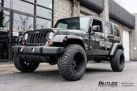 wrangler jeep black jeep wrangler with 20in black rhino glamis wheels butlertire