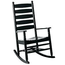 Black Rocking Chair Nursery Black Wicker Rocking Chair Outdoor Beastgames Club