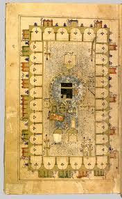 Ottoman Cities Leaf From Futuh Al Haramain