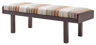 soledad bench mid century modern seating dering hall