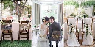 groom wedding 20 chic wedding chair decoration ideas for and groom