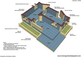 House Blueprints Free by 25 Best Dog House Blueprints Ideas On Pinterest Small Home