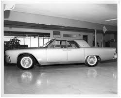 1961 lincoln continental in showroom the portal to texas history